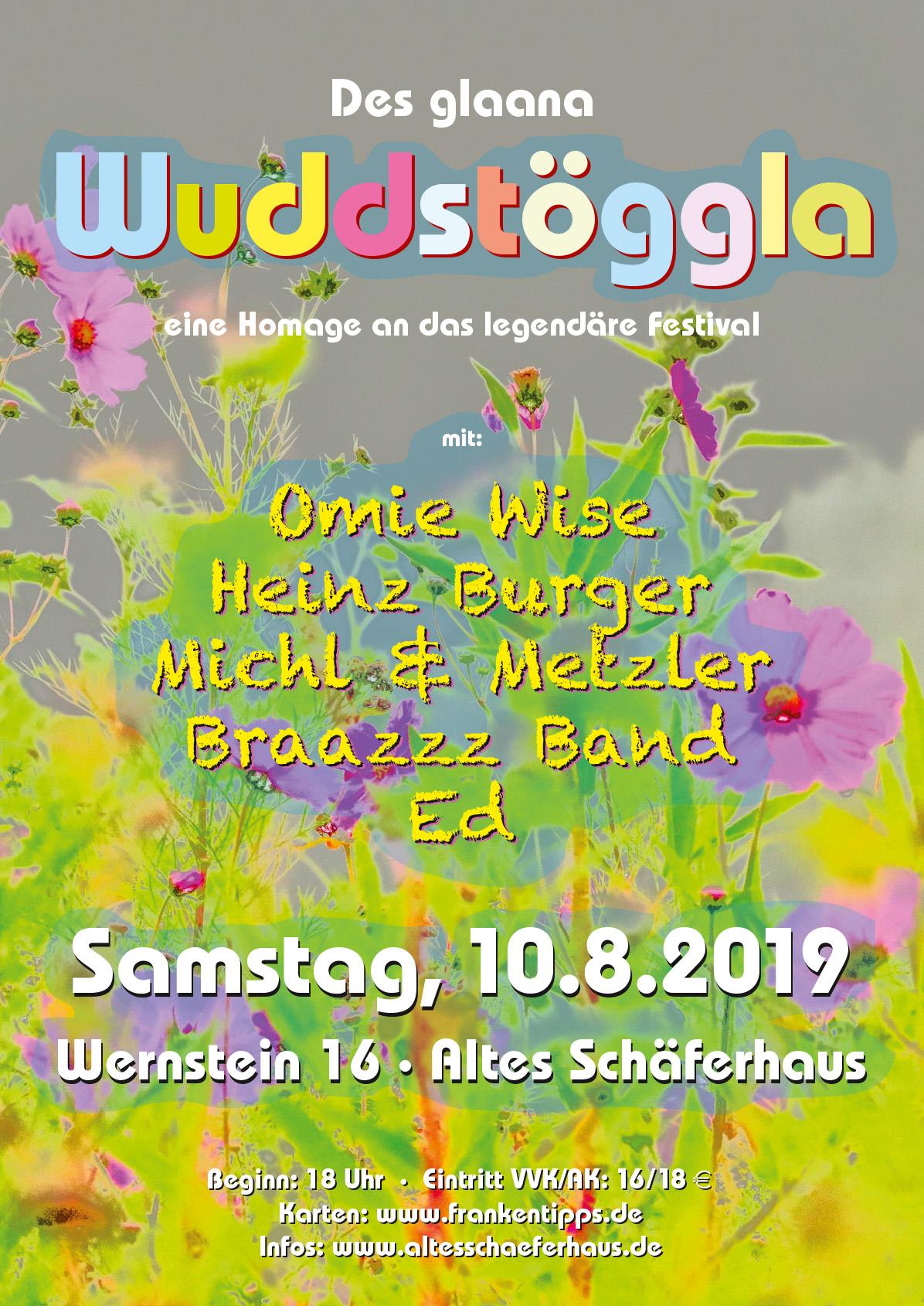 10. August 2019 – Wuddstöggla